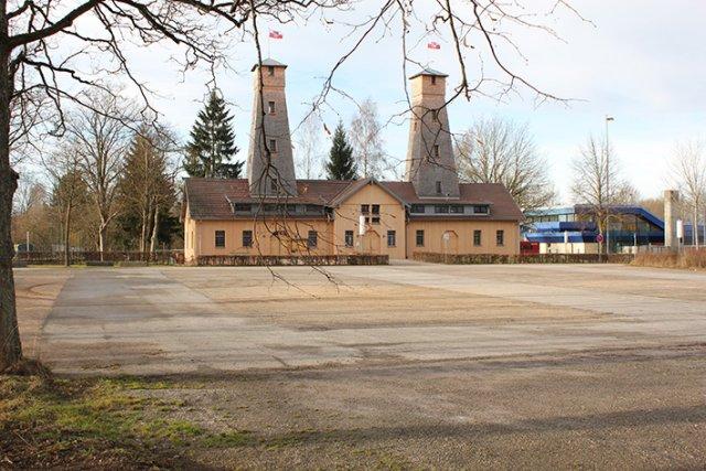 Die Bohrtürme in Bad Dürrheim